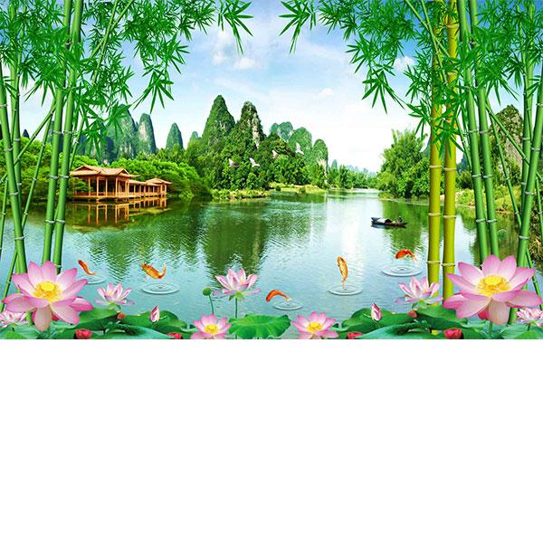tranh van phong gia re dep