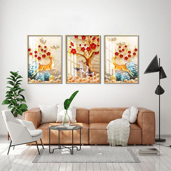mẫu tranh treo tường đẹp giá rẻ